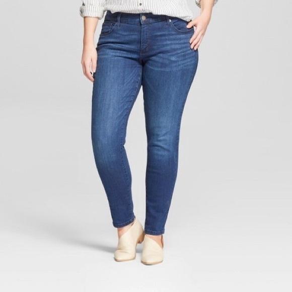 Universal Thread Denim - Universal Thread high rise skinny jeans